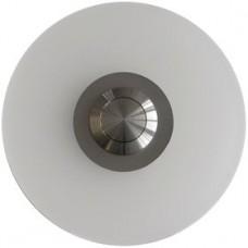 Türklingel rund, Acrylglas, Unterputz